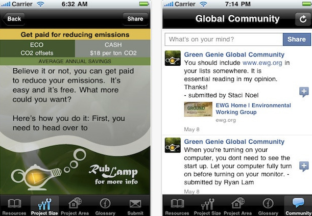 Green Genie App
