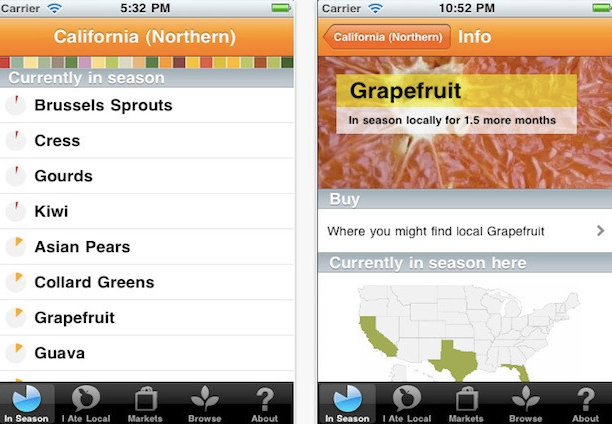 Locavore Green App