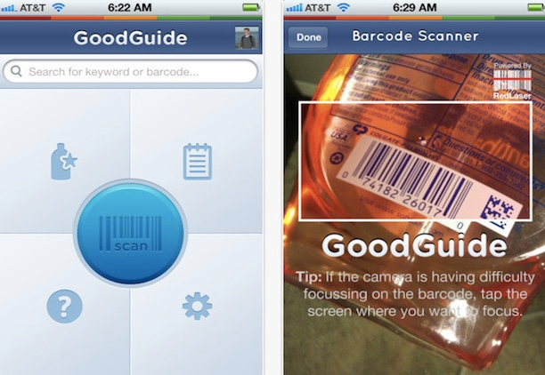 GoodGuide App to Living Green